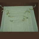 Custom Muslin Cotton Drawstring Pouch - 4