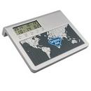 Custom World Time Desk Clock, 5 1/4