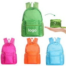 Custom Light weight Foldable Backpack Travel Bag, 17.32