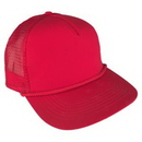 Custom Poplin Summer Mesh Back High Profile Cap