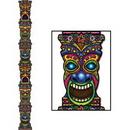 Custom Jointed Tiki Totem Pole, 7' L