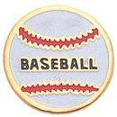 Blank Gold Enameled Pin (Baseball)