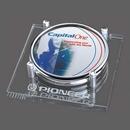 Custom Sherbrooke Coasters - Set of 2 (Sublim Silver), 5.5