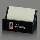 Custom Genuine Black Marble Business Card Holder