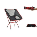 Custom Outdoor Ultralight Portable Folding Camping Chairs Beach Chair, 21 1/4
