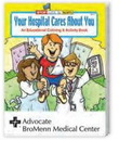Custom Your Hospital Cares About You Coloring Book, 8