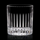 Custom 12 Oz. Bacchus Crystalline Double Old Fashioned Glass