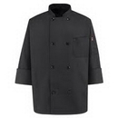 Custom Black Chef Designs Traditional Chef Coat