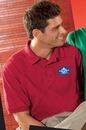 Custom Light Heathers Hanes Comfortsoft 100% Cotton Pique Polo Shirt