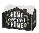 Blank Chalkboard Home Sweet Home Small Basket Box, 6.75