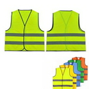Custom Reflective Vest Safety Workwear, 26 3/4
