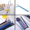 Custom Metal Straws For Cold Beverage, 8.46