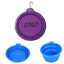 Custom Collapsible Silicone Dog Powl, 5.1