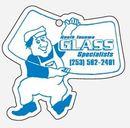 Custom Repair Man w/ Glass Hanging Air Freshener
