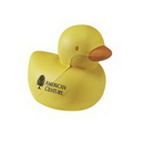 Custom Rubber Ducky Shaped Stress Reliever, 2.75