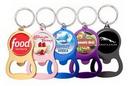 Custom Color Bottle Opener Keytags, 3.5