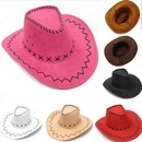Custom Summer Sun Protection Cowboy Hats Unisex Style, 23