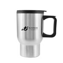 Custom Classic Double Wall 16oz Stainless Steel Tumbler