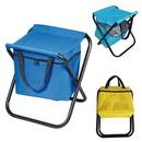 Custom Folding Stool With Cooler Bag, 12 1/2