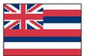 Custom Nylon Hawaii State Indoor/ Outdoor Flag (8'x5')