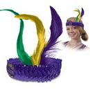Sequined Flapper Headband w/ Custom Printed 2