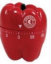 Custom Red Pepper 60 Minute Kitchen Timer