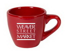 Custom 3.5 oz. Espresso Mug Crimson