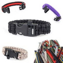 Custom Survival Escape Paracord Bracelet With Whistle, 9