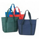 Custom Shopping Tote Bag with Zipper (20