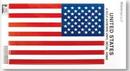 Custom Right Hand Large Vinyl U.S. Stiki-Bak Flag Decal (5