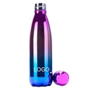 Custom Vacuum Sealed Stainless Steel Travel Water Bottle, 10.3