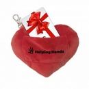 Custom Gift Card Holder Plush Key Chain, 1.5
