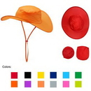 Custom Foldable Cowboy Hat With Pouch, 15