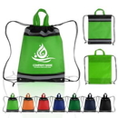 Custom Small Reflective Drawstring Backpacks, 13.00