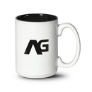 Custom Lucian Mug - 15oz White/Black