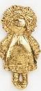 Custom Girl Rag Doll Stock Cast Pin