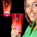 Custom Pink Neon Plastic LED Tumblers - 12 Ounce