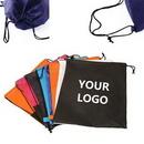 Custom 80gsm Non-woven Drawstring Backpack, 15 3/4