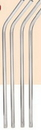 Custom Stainless Steel Drinking Straw, 8 1/2
