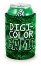 Custom DigiColor Camo Kolder Holder Can Cover w/ Glued Bottom (4 Color Process)