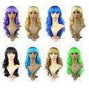 Custom Wavy Long Hair Party Wig, 21.6