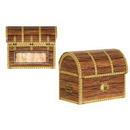 Custom Pirate Treasure Chest Box, 3 1/2