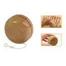 Custom Classic Natural Wood YO-YO, 2 1/8