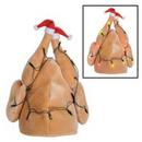 Custom Plush Light Up Christmas Turkey Hat