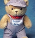 Custom Large Engineer Outfit Hat/Overalls for Stuffed Animal