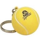 Custom Tennis Ball Stress Reliever Keytag