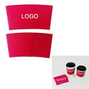 Custom Paper Coffee Cup Sleeve, 2 5/8