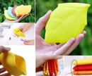 Custom Outdoor Leaf Shaped Silicone Cup, 4.75