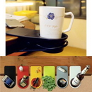 Custom Multi-function Table Side Holder for Coffee Cup/Bottle, 7 14/16