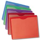 Plastic EZ View File Jackets - JEFFCO / CRAWFORD